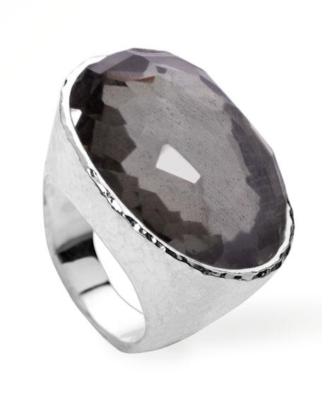 Wonderland Oval Ring, Pyrite