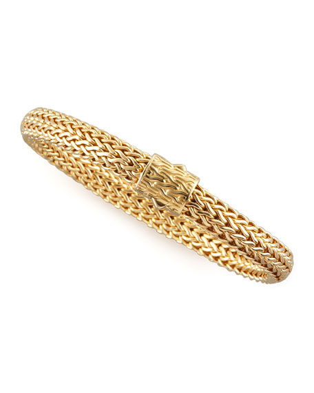 Gold Bedeg Chain Bracelet, Small