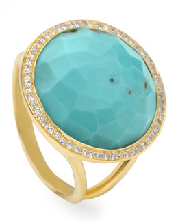 Ippolita Turquoise Lollipop Ring, Mini