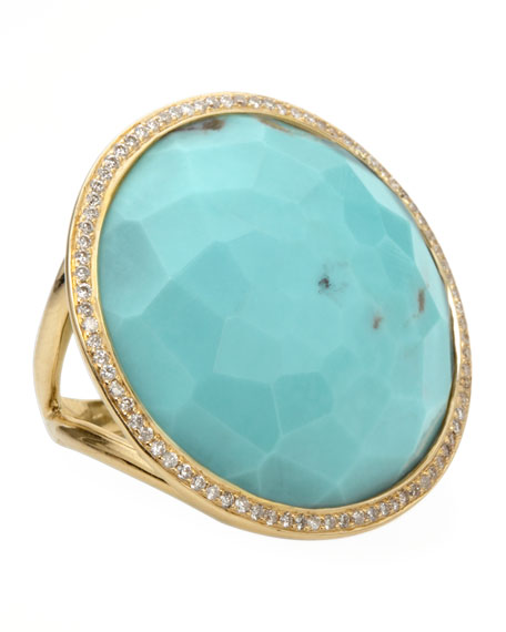 IppolitaTurquoise Lollipop Ring
