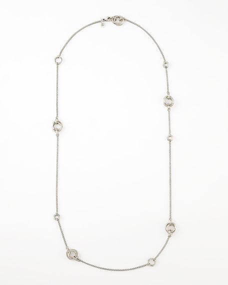 """Bamboo Sautoir Necklace, 36""""L"""