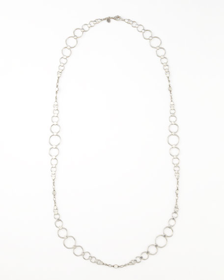 "Dot Link Sautoir Necklace, 36""L"