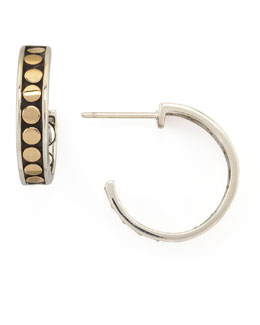 John Hardy Dot Small Hoop Earrings