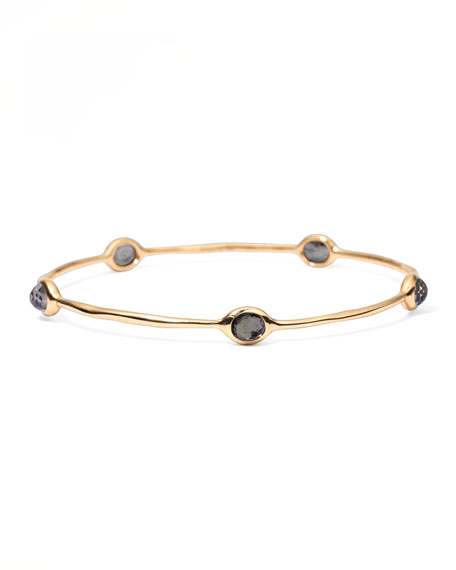 Rock Candy 5-stone Bangle