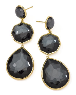 Ippolita Hematite Crazy-Eight Earrings