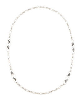 Stephen Webster Black Sapphire Knot Necklace, 37""