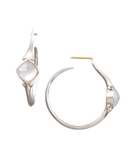 Stephen Webster Crystal Superstud Hoop Earrings, Small