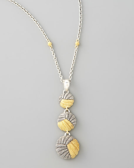 Soiree Graduated Pendant Necklace