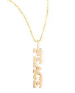 Zoe Chicco Personalized Five-Letter Necklace