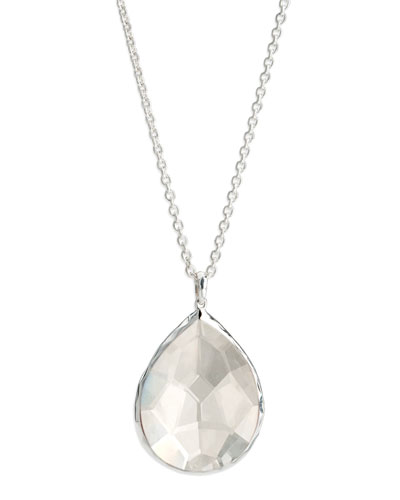 Ippolita Large Teardrop Pendant, Clear Quartz