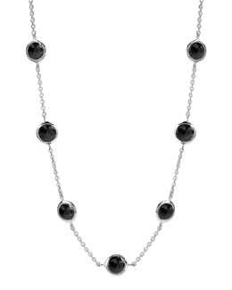 Ippolita Seven-Station Lollipop Necklace, Onyx
