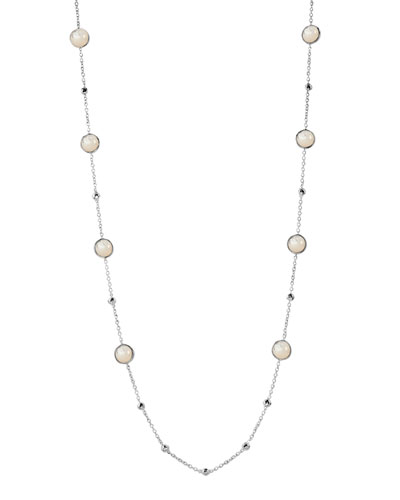 Ippolita Lollipop Mini-Station Necklace, Mother-of-Pearl
