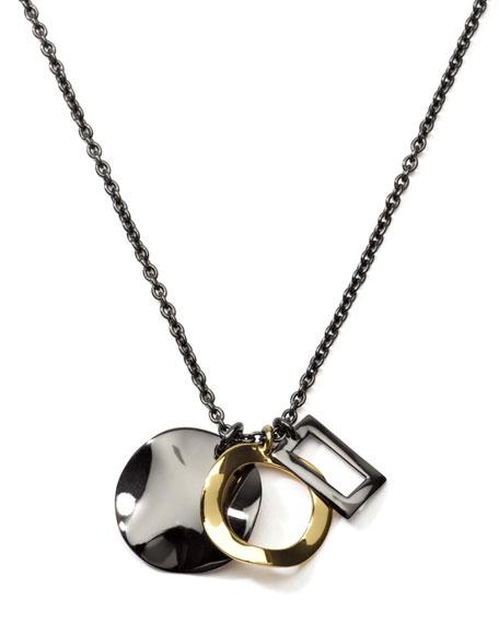 Notte Triple-Pendant Necklace