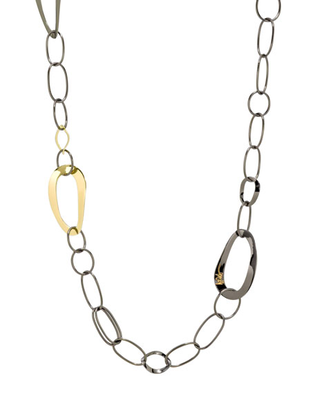Long Notte Link Necklace