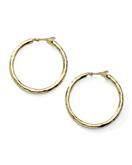 Glamazon Thick Hoop Clip Earrings