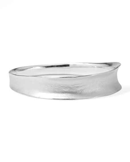 SLVR VENEZIA SMOOTH BANGLE