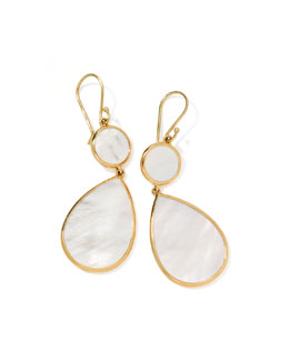 Ippolita Rock Candy Snowman Earrings, Mother-of-Pearl
