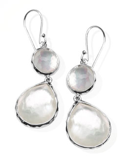Ippolita Mother-of-Pearl Wonderland Teardrop Earrings, White