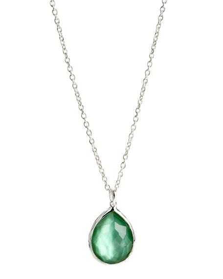 Teardrop Pendant Necklace, Medium