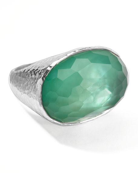 Wonderland Oval Ring, Mint