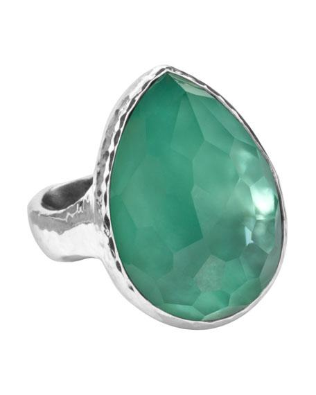 Wonderland Teardrop Ring, Mint