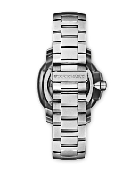 43mm Automatic Stainless Steel Watch