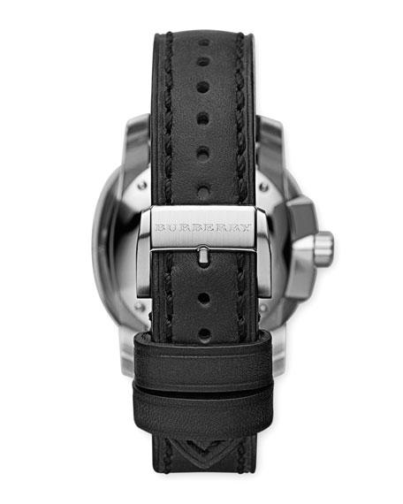 43mm Watch, Black