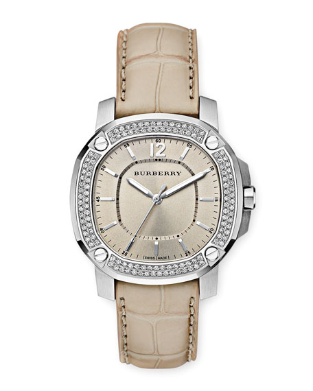 38MM SIL DIAL DIAMOND