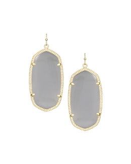Kendra Scott Danielle Earrings, Slate