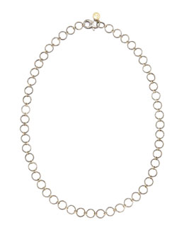 "Dominique Cohen Noir Yellow Gold Necklace, 24""L"