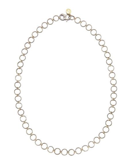 """Noir Yellow Gold Necklace, 24""""L"""