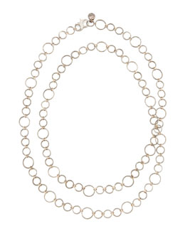 "Dominique Cohen Noir Rose Gold Necklace, 42""L"