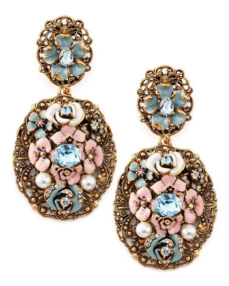 Baroque Floral Earrings