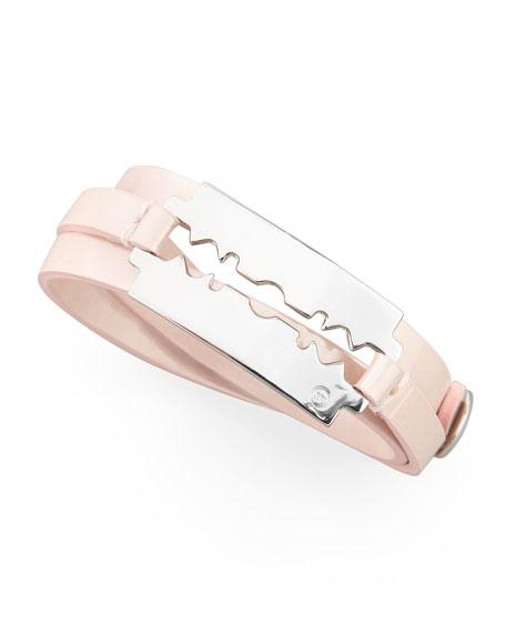 Razor-Blade Wrap Bracelet, Blossom