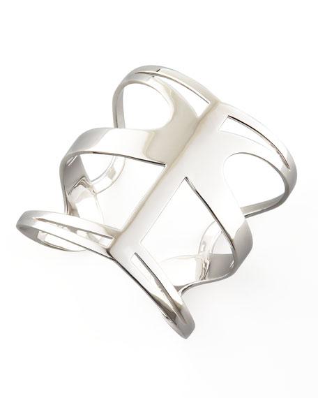 Infinite Love Cuff, Silver