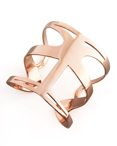 Infinite Love Cuff, Rose Gold