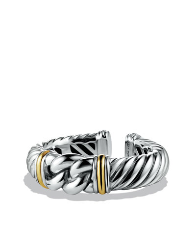 David Yurman Metro Bracelet with Gold
