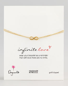 Dogeared Gold Infinite Love Bracelet
