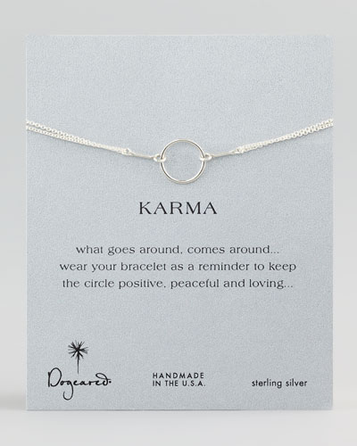 Original Karma Ring, Silver