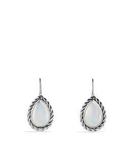 David Yurman Color Classics Drop Earrings with Moon Quartz
