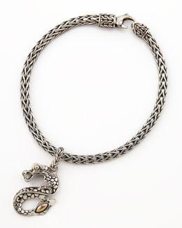 John Hardy Naga Dragon Charm Bracelet