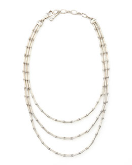 John Hardy Bamboo Triple-Strand Necklace