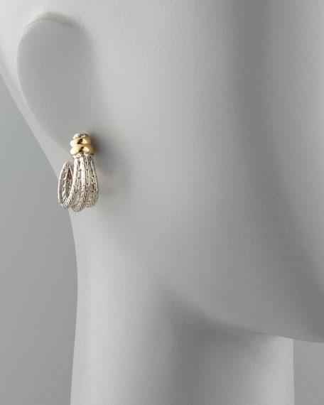 Bedeg Small J Hoop Earrings