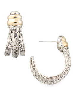 John Hardy Bedeg Small J Hoop Earrings