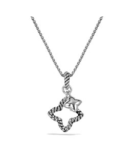 David Yurman Cable Collectibles Quatrefoil Charm