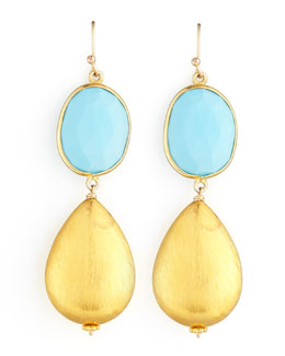 Dina Mackney Dina Mackney Turquoise Drop Earrings