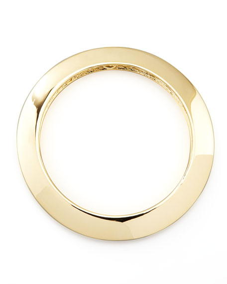 GOLD SKINNY MEDIUM BANGLE