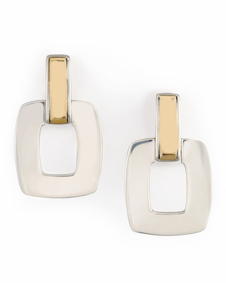 Classic Chain Door-Knocker Drop Earrings