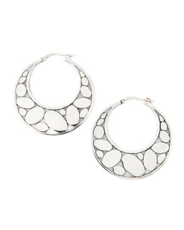 John Hardy Silver Kali Hoop Earrings