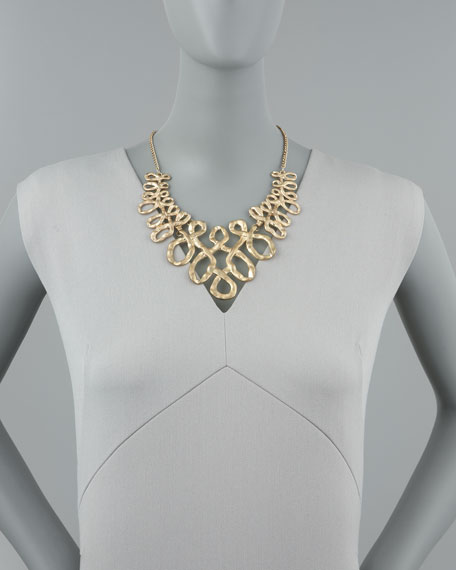 Twist Statement Necklace